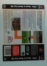 *BACK INLAY ONLY* FIFA Road to World Cup 98 Back Inlay  PS1 PSOne Playstation
