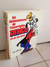 Les Mésaventures de l'incorrigible DINGO  Walt Disney 1979   Grand Format avr30
