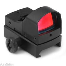 Mini Holographic Reflex Red Dot Sight Tactical Scope Light Adjustable Brightness