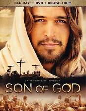 BRAND NEW SON OF GOD BLU RAY & DVD MOVIE COMBO PACK 2 DISC SET W/SLIPCOVER