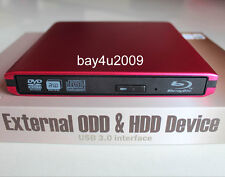 USB 3.0 External Pioneer BDR-TD03 3D Blu-Ray Burner Writer BD-RE DVD Drive New