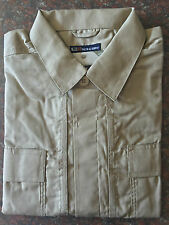 5.11 Tactical Men 71339 Taclite Short Sleeve Shirt Hidden Pockets TDU Khaki XL
