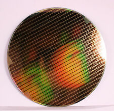 200mm  / 8 inch Silicon wafer  - Small DRAM's  - Amazing Chip Patterns