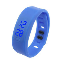 Mens Unisex Watches Rubber LED Date Sports Bracelet Digital Wristwatch Часы #6