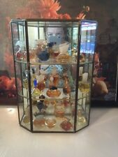 Lot of 26 Designer Miniature Perfumes With Display Case