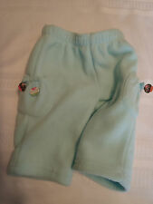GYMBOREE Baby Girls Size 3-6 Month Sweet Tooth Fleece Pants NWT Cupcake Dangles