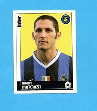 PANINI CALCIATORI 2006-2007- Figurina n.163- MATERAZZI - INTER -NEW