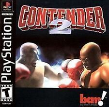 Contender 2 boxing NEW factory sealed PlayStation PSX PS1