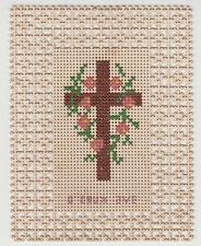 Ricordino di Comunione Santino antico Canivet immagine sacra 800