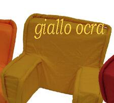 COMODONE- supporto schiena - appoggiaschiena unisex GIALLO 55*40 cm circa.