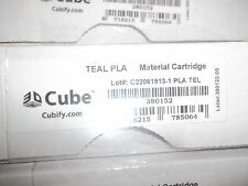 380152 Cube 3D PLA Printer Cartridge - Teal - 3D systems, 2nd generation