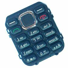 100% Genuine Nokia C1-02 front keypad keyboard number buttons keys Black C1