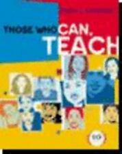 Those Who Can, Teach by James M. Cooper and James Michael Cooper (2003,...