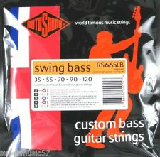 Rotosound RS665LB 5 String Swing Bass Guitar Stainless Steel Roundwound 35-120