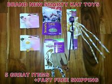 SmartyKat Smarty Kat 5 GREAT ITEMS FOR PLAY TIME CAT TOY OR KITTENS +FREE SHIPN