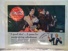 Original Vintage 1936 Coca-Cola Ad From Good Housekeeping Magazine w/Ray Noble