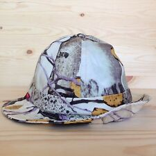 SUPREME ASPEN WOOD BELL CRUSHER BUCKET HAT CAMO MILITARY BOX LOGO CAMP CAP S/M