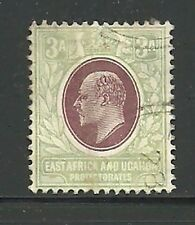 Album Treasures East Africa & Uganda Scott # 21 3a Edward Vii Very Fine Used CDS
