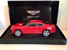 Minichamps 2011 BENTLEY CONTINENTAL GT- RED 1:18**Nice New Release**