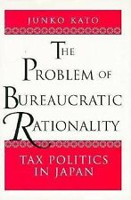 The Problem of Bureaucratic Rationality, Junko Kato, Very Good, Japan, Central G