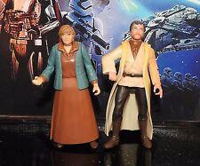 Star wars figurines tante beru lars + oncle owen lars un nouvel espoir