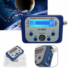 Digital LCD Satellite Finder Satfinder Signal Strength Meter Sat Dish Directv