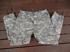 US Military ARMY Digital Camo Combat Fatigue BDU Pants MED. REGULAR PAINTBALL 2