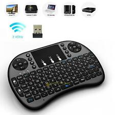 2.4G Wireless Rechargeable Air Mouse Mini QWERTY Keyboard for PC TV Box Xbox360