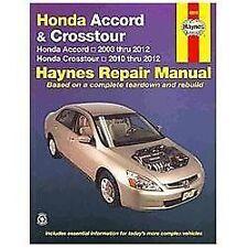 2003-2012 Honda Accord Crosstour Repair Manual  06 2007 2008 2009 2010 2011 1812