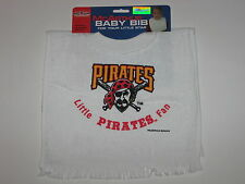 Pittsburgh Pirates Terry Velour Pullover Towel Baby Bib