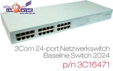 24x 24-Port 10/00 switch 3com baseline lnetwork a switch 2024 3c16471 GRIGIO GREY