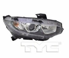 TYC NSF Right Sid Halogen Headlight For Honda Civic None Touring 2016-2017 Model