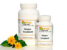 Herpes Treatment herbal formula  100 Caps organic, kosher, halal, wild-crafted