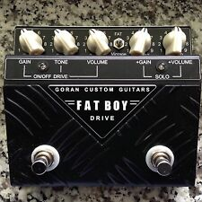 NEW! Goran Custom Guitars Fatboy 2 Drive, Bonamassa, Billy Gibbons, Lance Lopez +