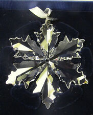 "SWAROVSKI Crystal 2014 Annual Snowflake Christmas Gift Ornament 3"" New in Box"