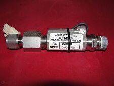 Gems Flow Switch FS-380 P/N: 220893 SPEC: 0.50 GPM