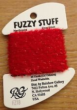 Fuzzy Stuff needle point thread cross stitch embroidery fluffy sparkly shimmer