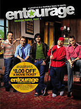 Entourage - Seson Three, Part - DVD - NEW Sealed