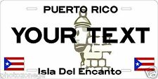 Puerto Rico 86 Tag Custom Personalized Motorcycle Moped Bike License Plate Auto
