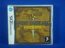 *ds FIRE EMBLEM Shadow Dragon (No Manual) +Z RPG Lite DSi 3DS Nintendo PAL
