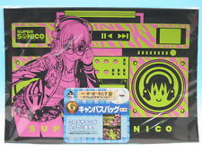Ichiban Kuji Super Sonico Campus Life G Prize Campus Bag Black Banpresto