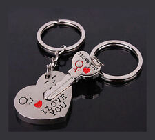 His and Hers I Love you Set of 2 Keyrings