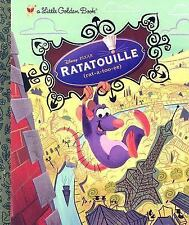 Disney Pixar  RATATOUILLE  New Hardcover Little Golden Book