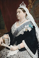 Framed Print - Queen Victoria the First British Monarchy (Picture Poster Art)