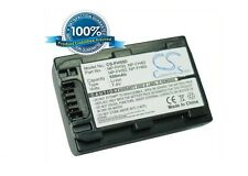 7.4V battery for Sony HDR-CX12, HDR-TG1, DCR-SR62, DCR-SR42E, DCR-DVD203, HDR-SR