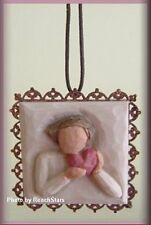 FROM THE HEART METAL EDGED ORNAMENT BY WILLOW TREE ANGELS FREE U.S. SHIPPING