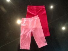 Juicy Couture New & Gen.Baby Girls Pink Velour Pants X 2 Age 6/12 MTHS With Logo