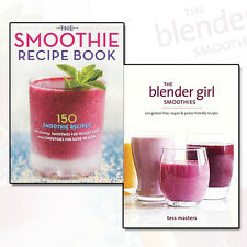Smoothie Recipes Collection 2 Books Set Pack Blender Girl Smoothies NEW