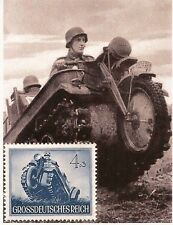 Third 3rd Reich Post Office 1944 Nazi Germany Wehrmacht Kettenkrad stamp MNH