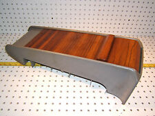 Mercedes Late W124 sport line REAR seat GRAY roll up ZEBRANO wood OEM 1 Console